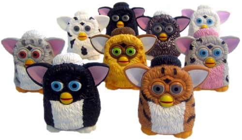 1990s Music Toys : Furby internet with a brain