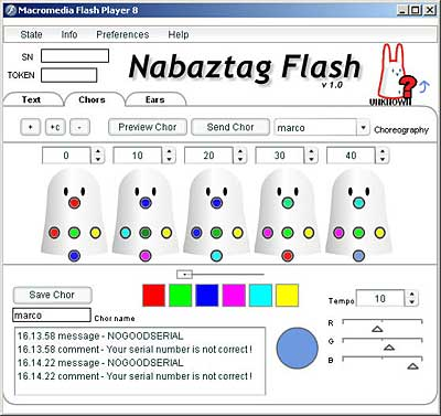 Nabaztag Flash