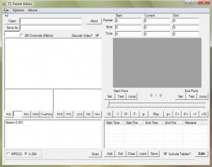 TS Packet Editor