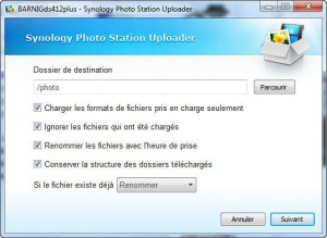 Synology Upload Tool
