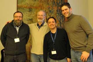 Werner Schweer, Hervé Bitteur, Nicolas Froment, Thomas Bonte