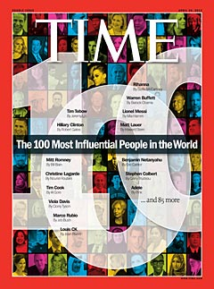 Time : 100 Influential People
