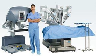 Télémanipulateur chirurgical da Vinci