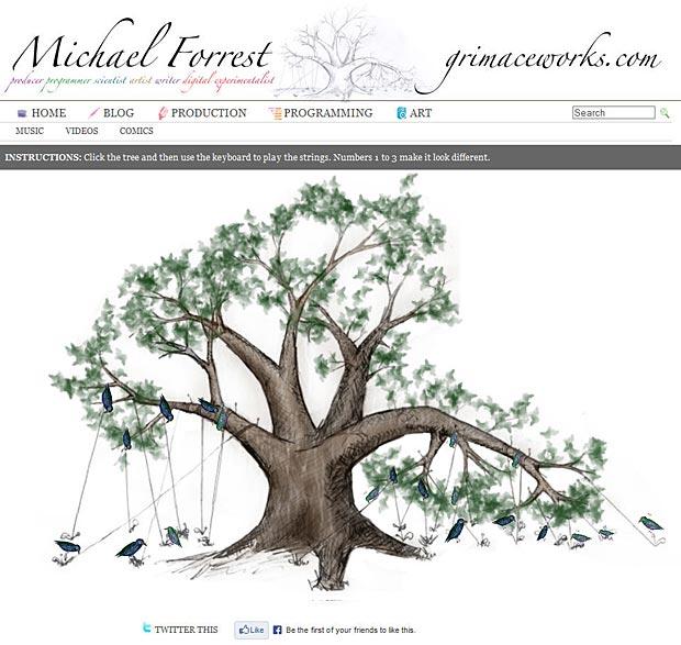 Animata Tree Artwork by Michael Forrest