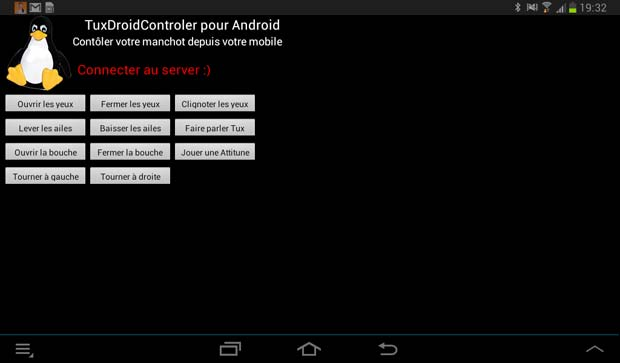 TuxDroid Android App
