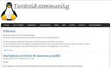Site web tuxdroid-community.org