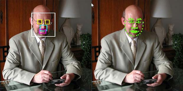 Face Recognition Tests : APICloudMe FaceRect and FaceMark