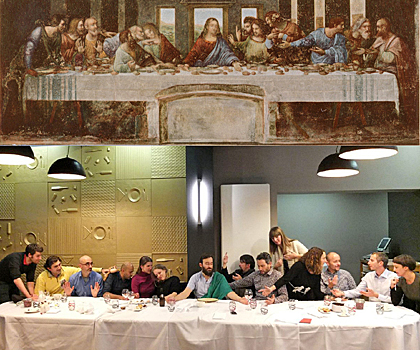 VanGoYourself : The Last Supper, Leonardo da Vinci