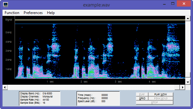 Spectrogram16 customized