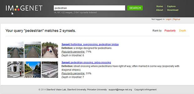 ImageNet Search Result