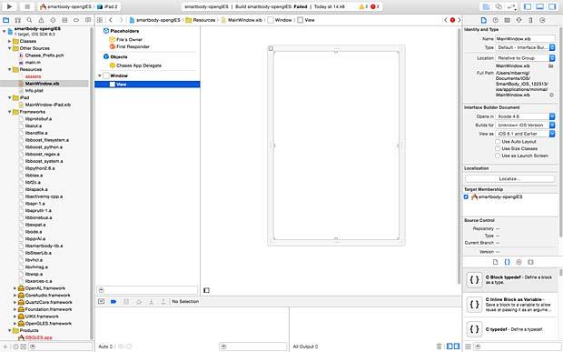 Xcode IDE Editor