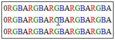 Byte sequence in PNG image rows
