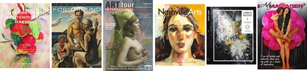 Art Magazines on the electronic publishing platform Issuu