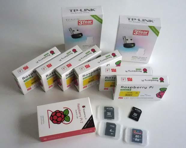 Raspberry Pi's