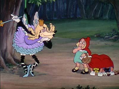 le grand mchant loup et le chaperon rouge