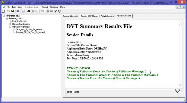 Outil de test DVTk